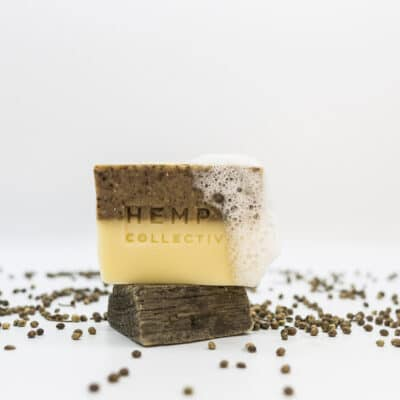 'Hemprtle' – Hemp + Lemon Myrtle Soap