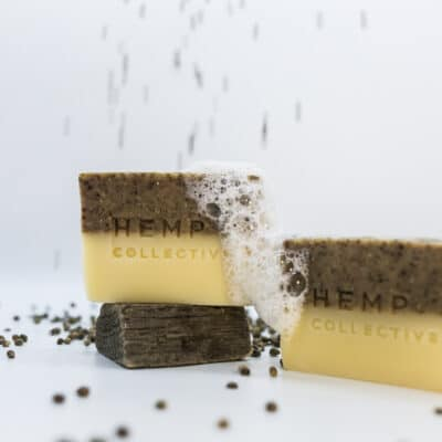 Hemp Collective - 'Hemprtle' – Hemp + Lemon Myrtle Soap