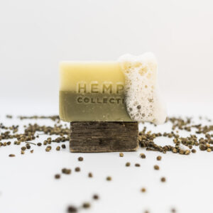 'Hempermint' – Hemp + Peppermint + Eucalyptus Soap