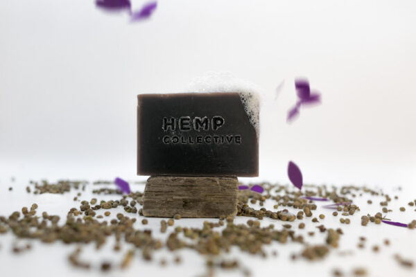 'Love Hemp' – Hemp + Lavender Oil Soap