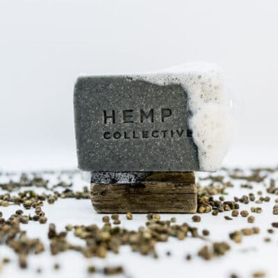 'HempChar' – Hemp Oil + Activated Charcoal Soap