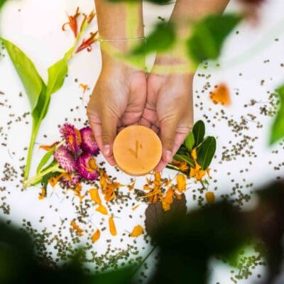 Hemp Shampoo Bar – Orange, Grapefruit & Lemon