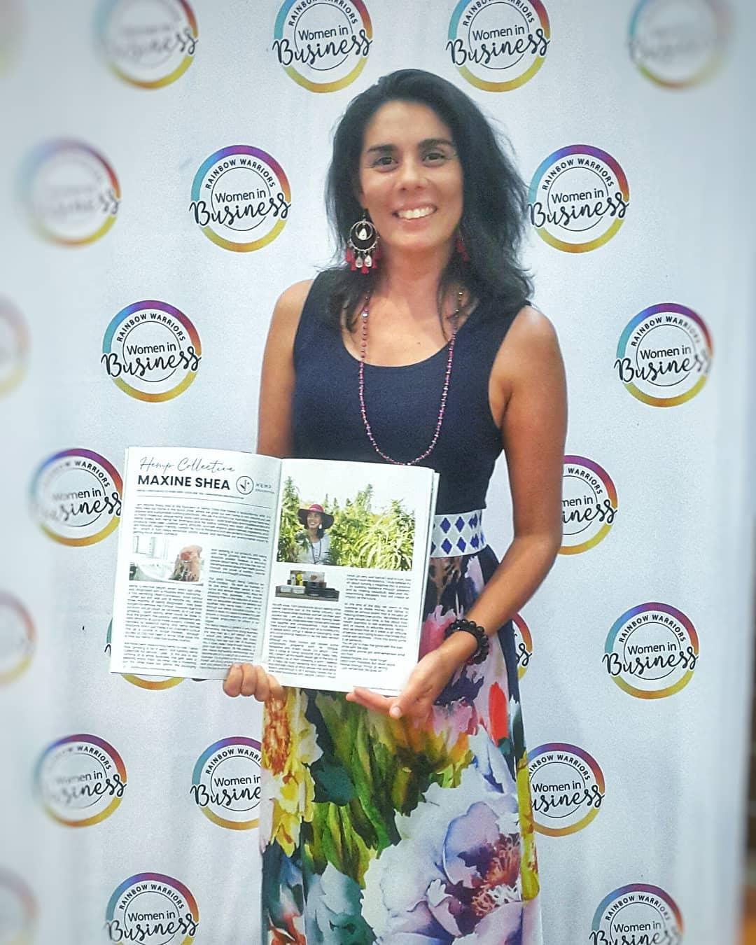 Hemp Collective featured in Rainbow Warriors Women in Business Magazine