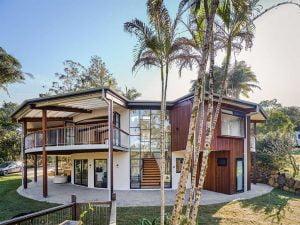 Hemp Home by Balanced Earth building
