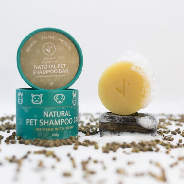 Natural Pet Shampoo Bar made from Hemp